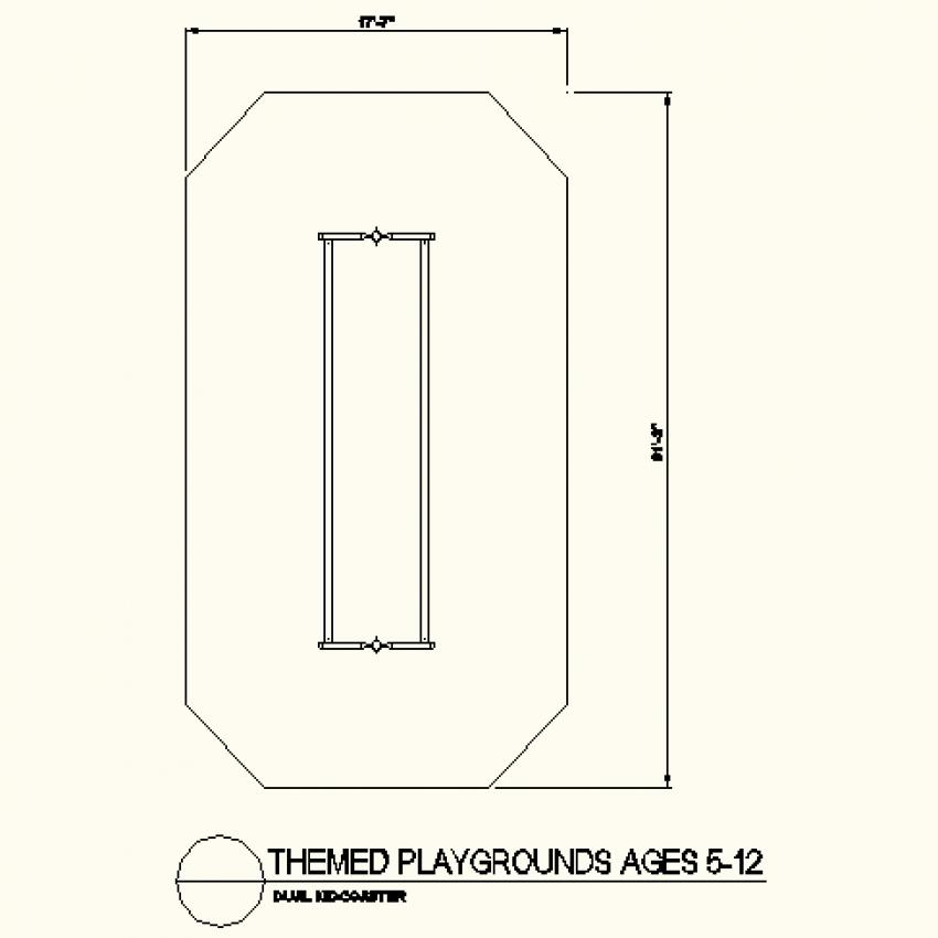 Ocatagon shape type autocad file