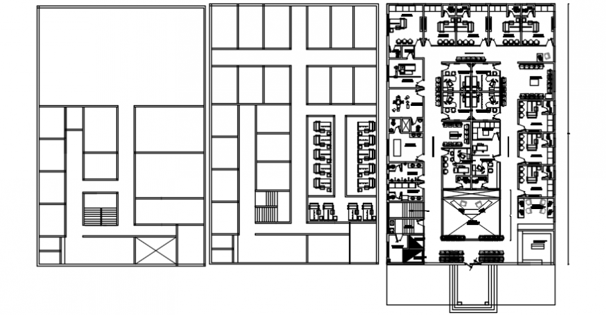 Office building floor plan and framing plan and structure cad drawing details dwg file