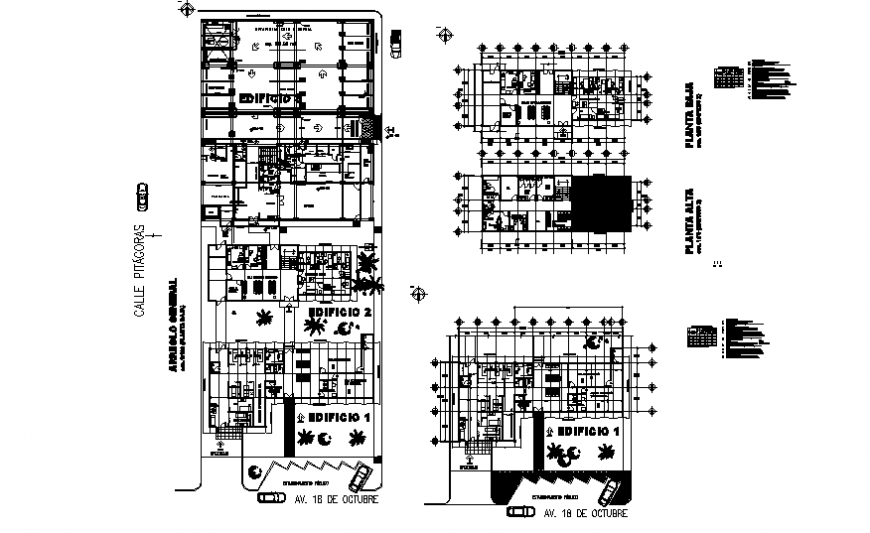 Office building floors floor layout plan details dwg file