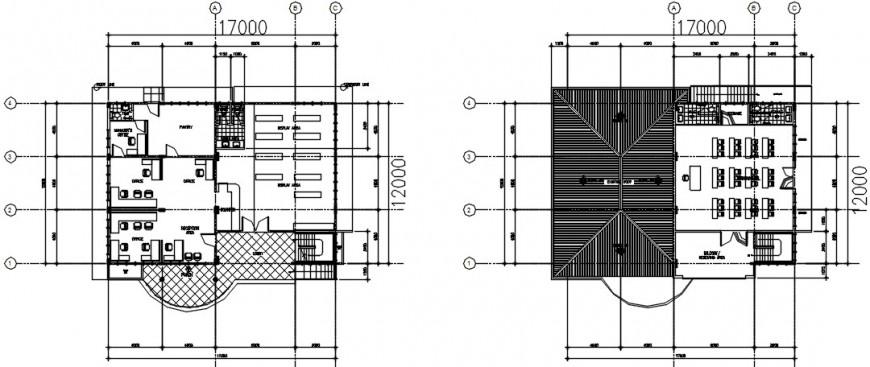 office floor detail cad file