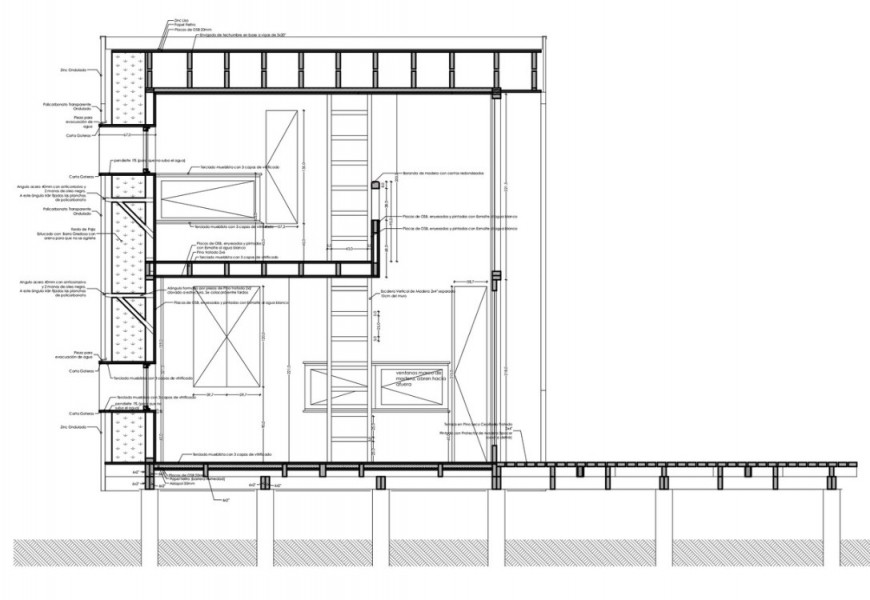 office section plan detail