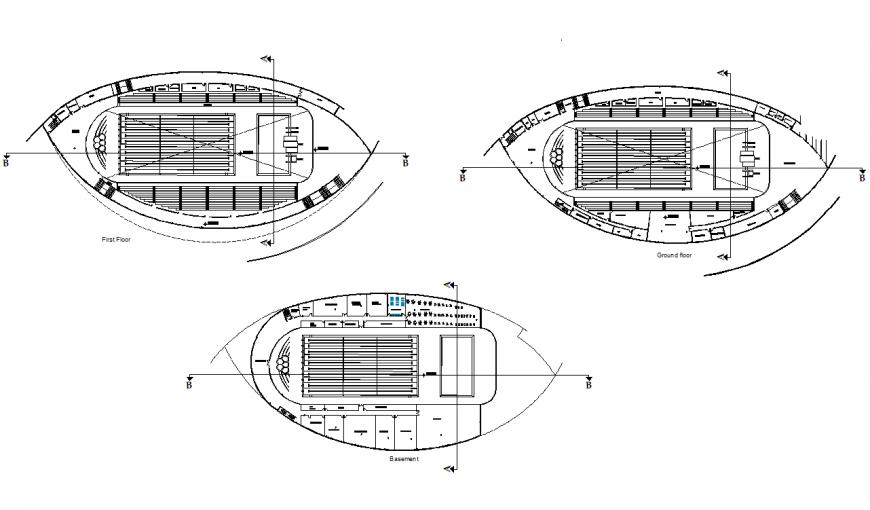 Olympic pool design plan autocad file