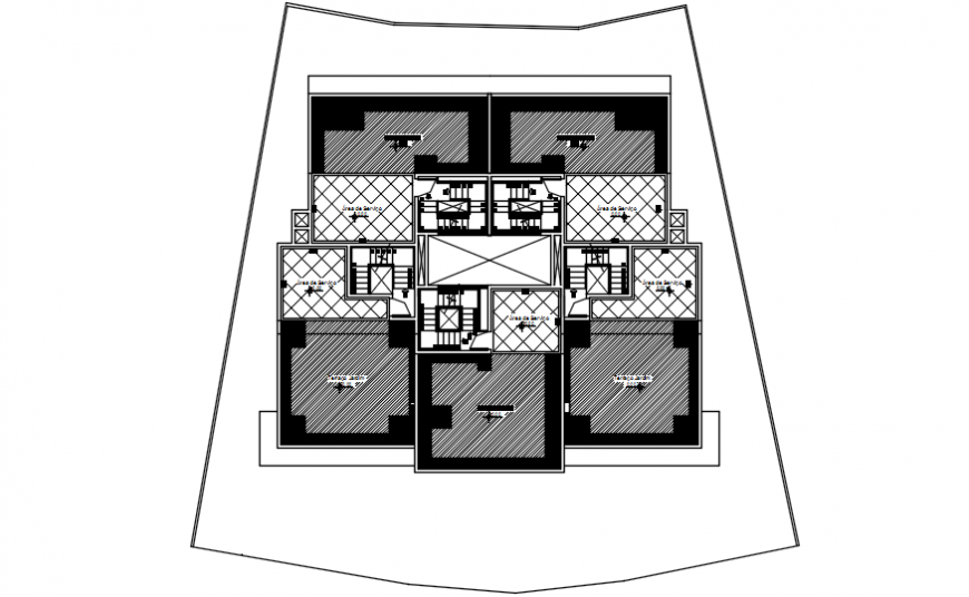 One family house architecture layout plan auto-cad 2d drawing details dwg file