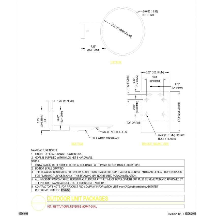 Outdoor unit packages dwg file