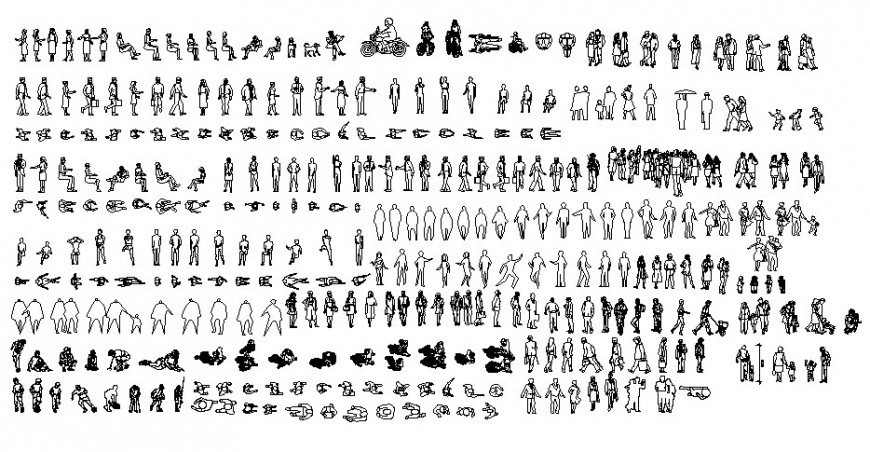 People units drawings 2d view autocad software file