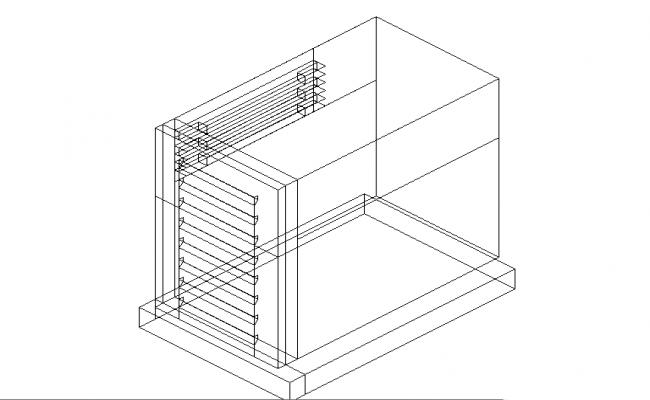 perspective image of ventilation window