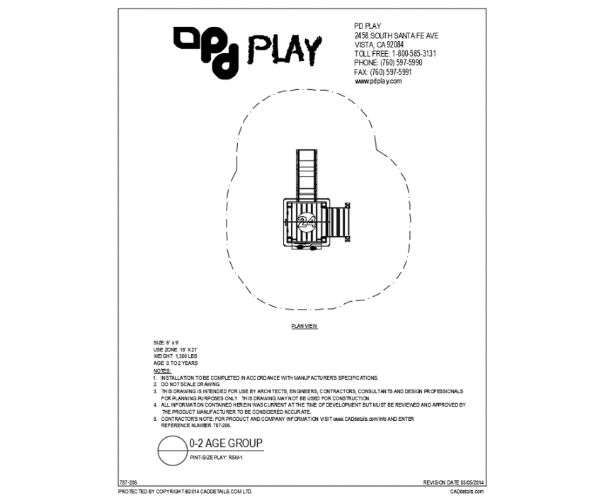 pint size stair play equipment details of garden dwg file