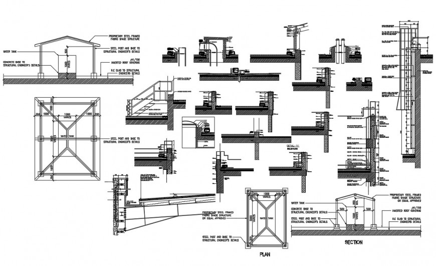 Plan for designer detail warehouse AutoCAD software