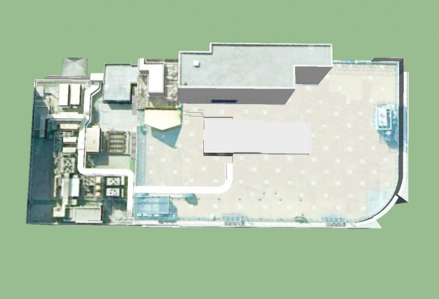 Plan of Parol commercial building in sketch up file