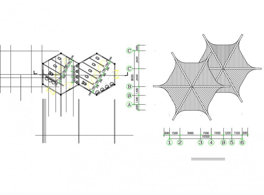 Planning latrine construction detail dwg file