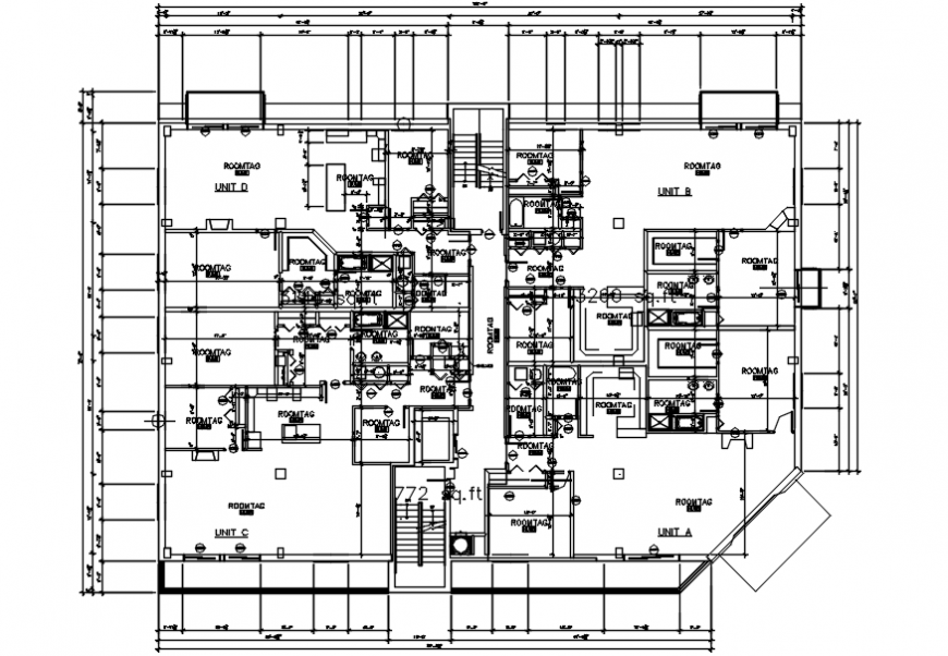Plant layout office dwg files