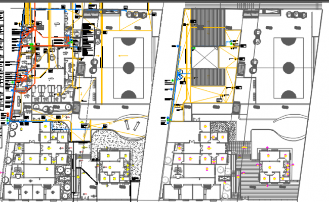 plumbing facility design dwg file