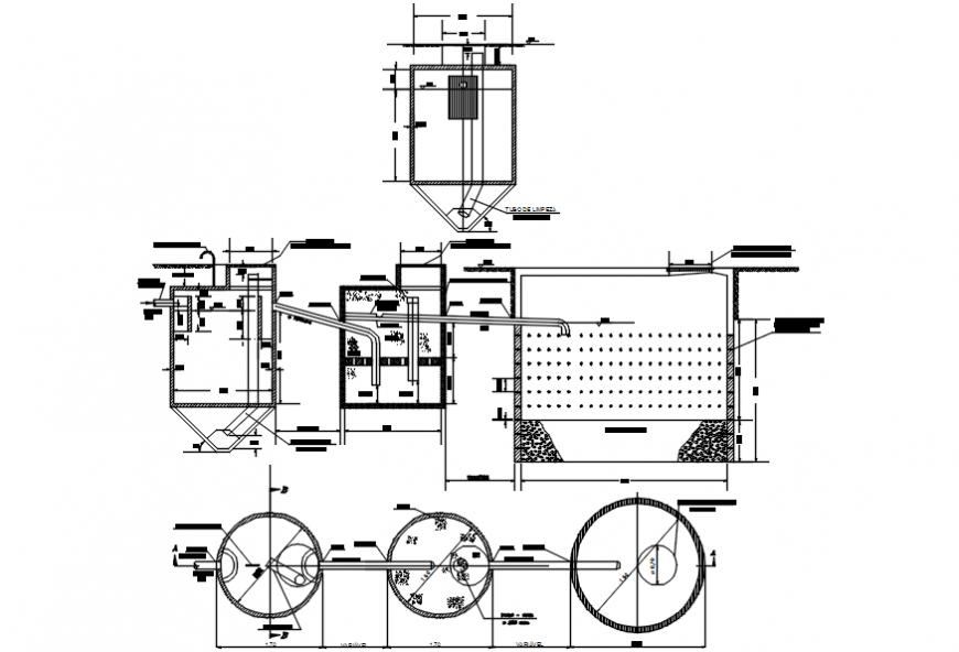 Plumbing 2d sectional detail file