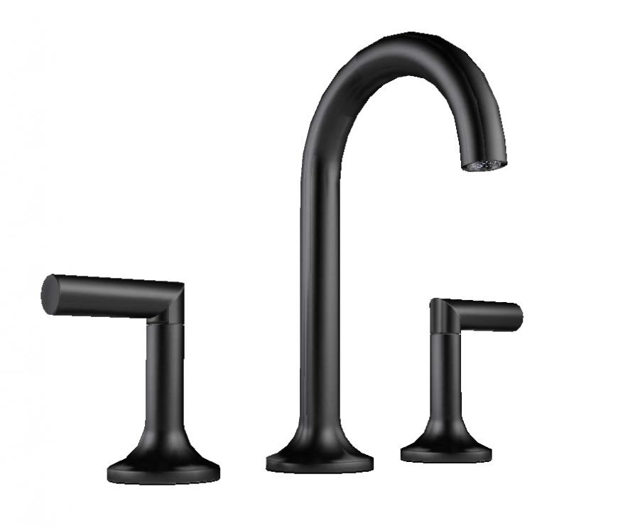 Plumbing unit tap detail layout 3d model sketch-up file