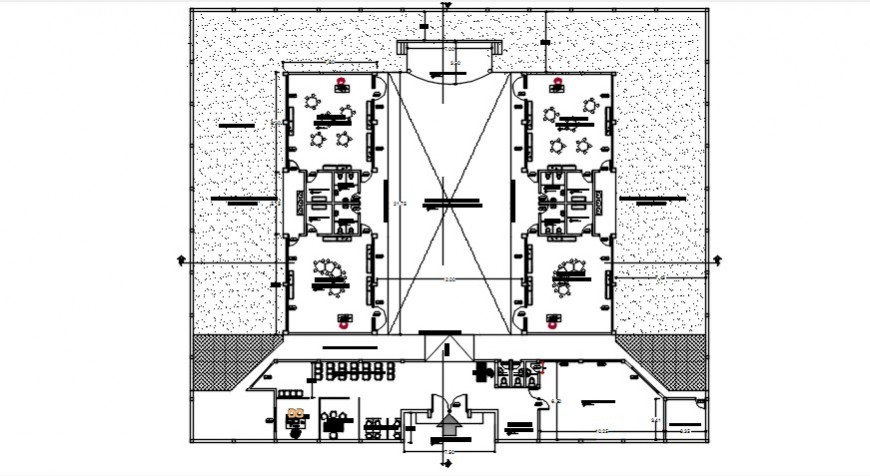 primary school project detail cad file