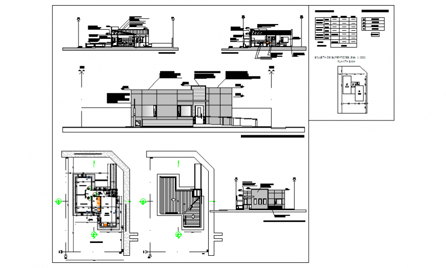Project design drawing of Living palace all drawings