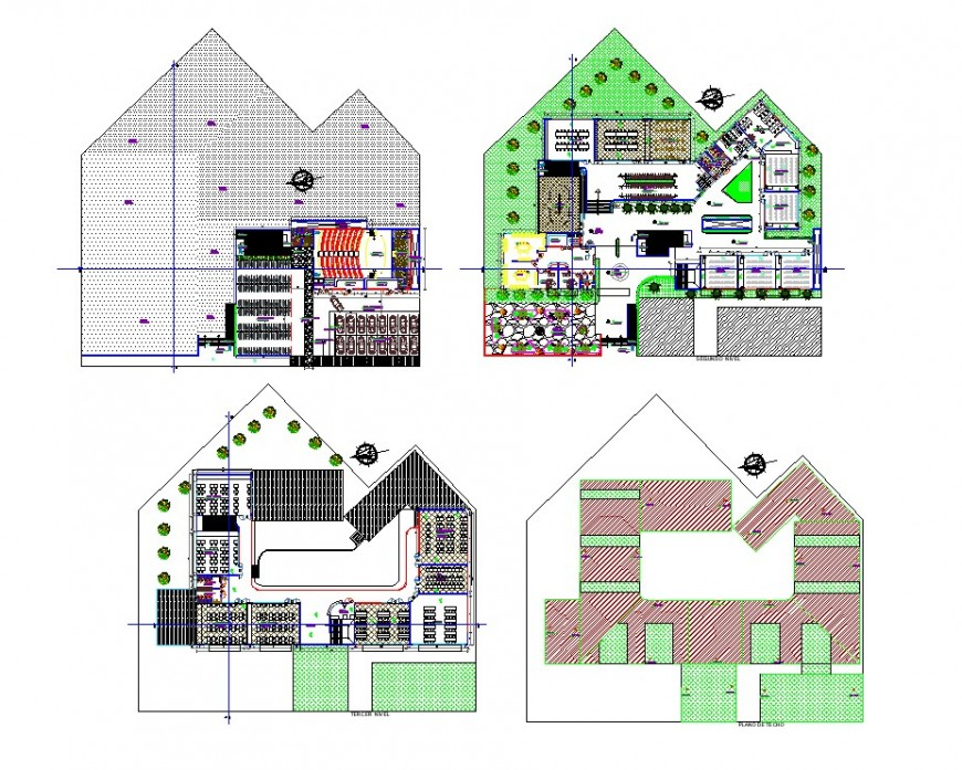 Project faculty of architecture planning autocad file