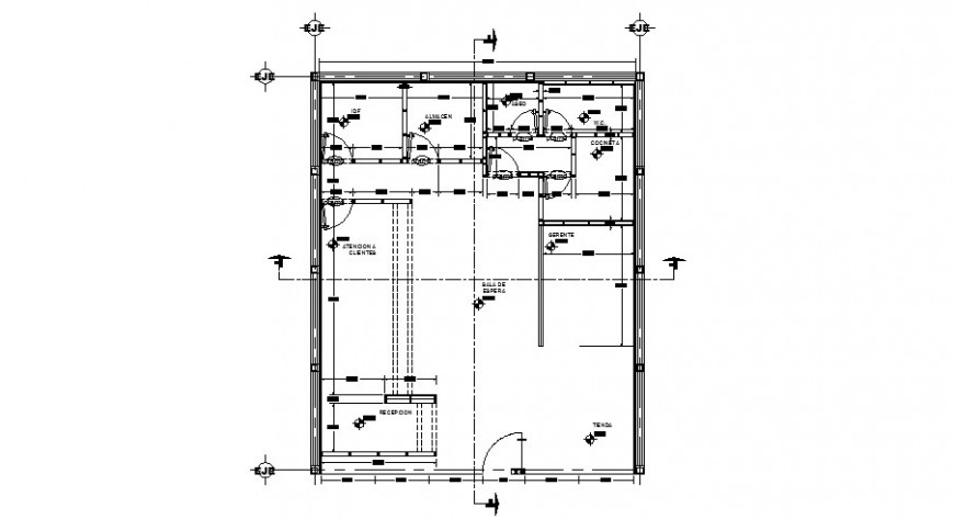 Proto type project movie star store panel sand finishes plan cad drawing details dwg file