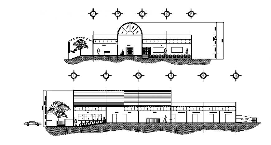 Public architecture project design file
