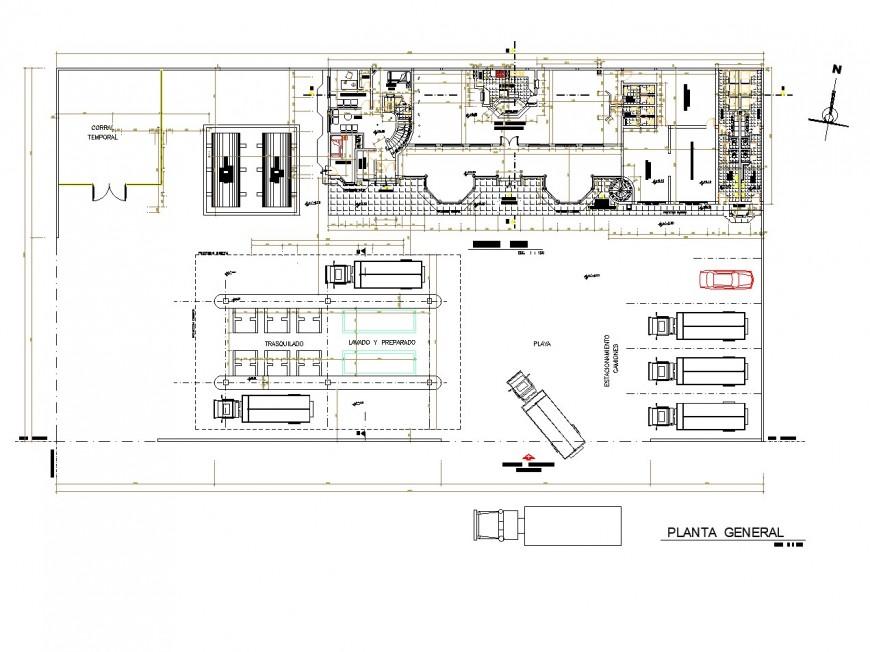 Puyopuyo artisan center plan layout file