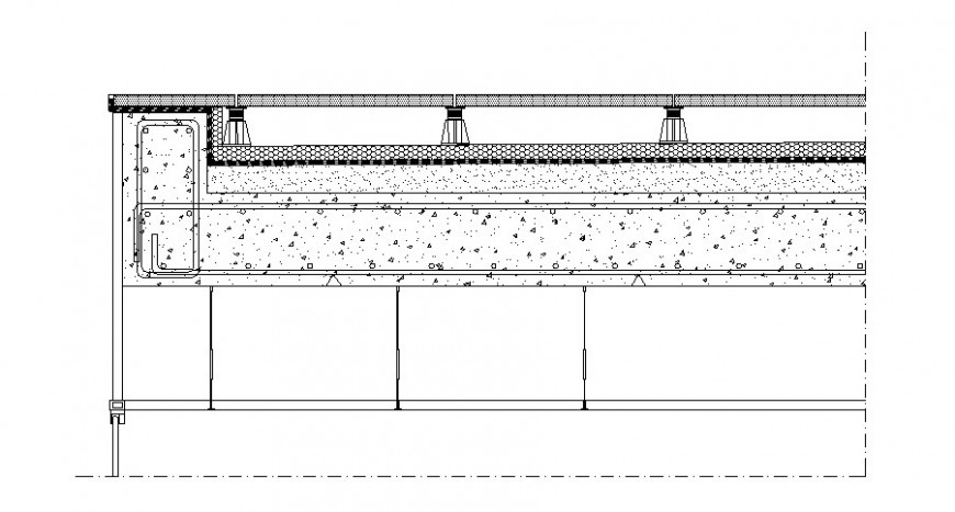 RCC blocks detail drawing in autocad software