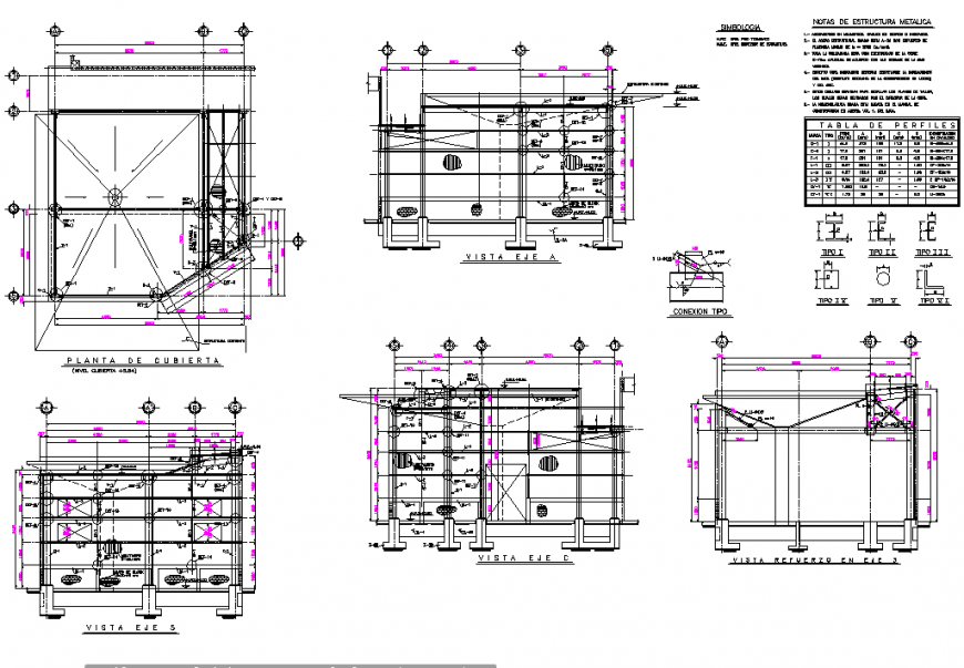 Reach expansion workshop plan and section layout file