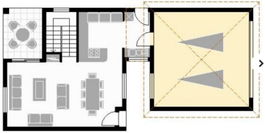 residence ground floor layout plan dwg file