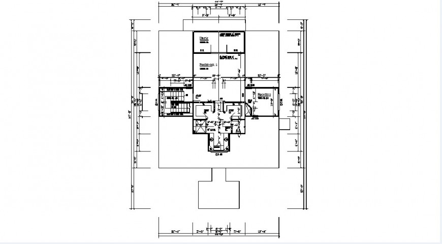 Residence house floor framing plan structure drawing details dwg file