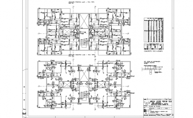 residential apartment flat plan layout view detail dwg file