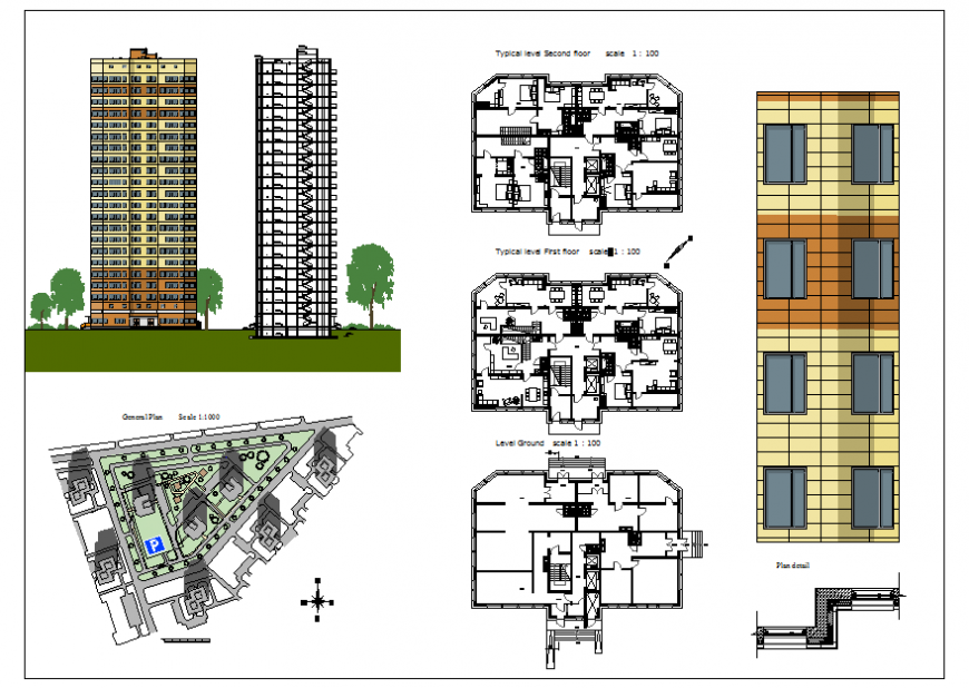 Residential Apartment Building project
