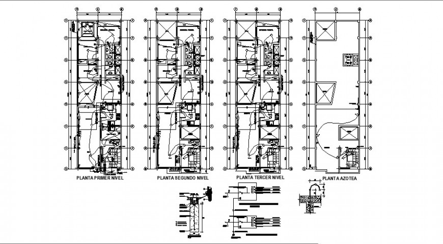 Residential apartment electrical installation plan detail 2d view autocad file