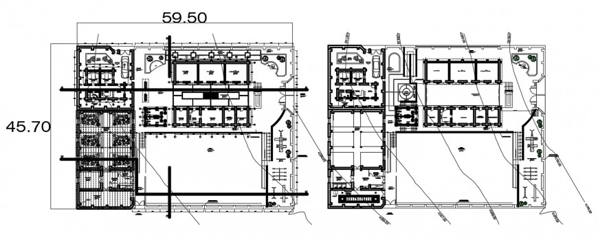 Residential house plan, sanitary installation and water hydraulic system details dwg file