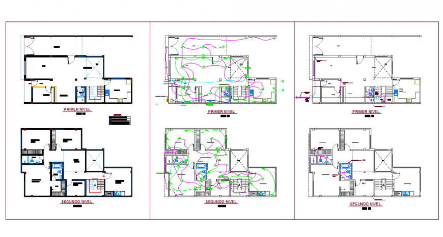 Residential House Plan Lay-out detail