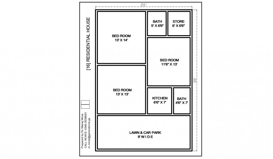Residential house wall layout plan drawing in dwg AutoCAD file.
