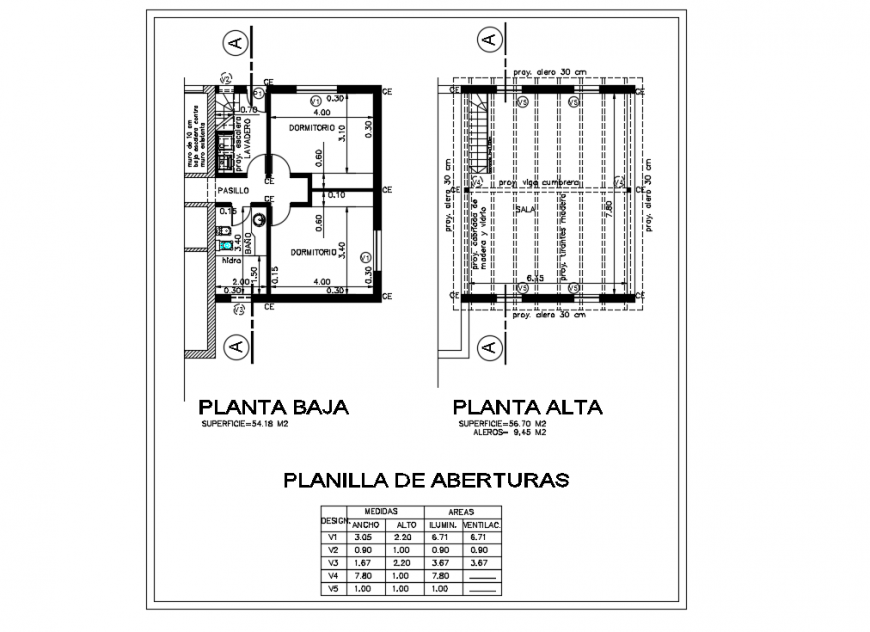 Residential Planing & Column Lay-out detail