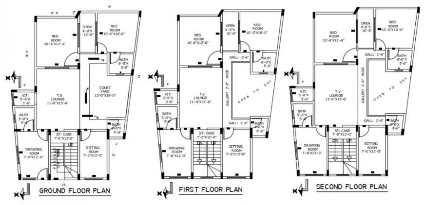 Resort  and hotel  floor plan dwg file in Autocad format