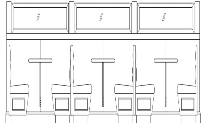 restaurant dwg file