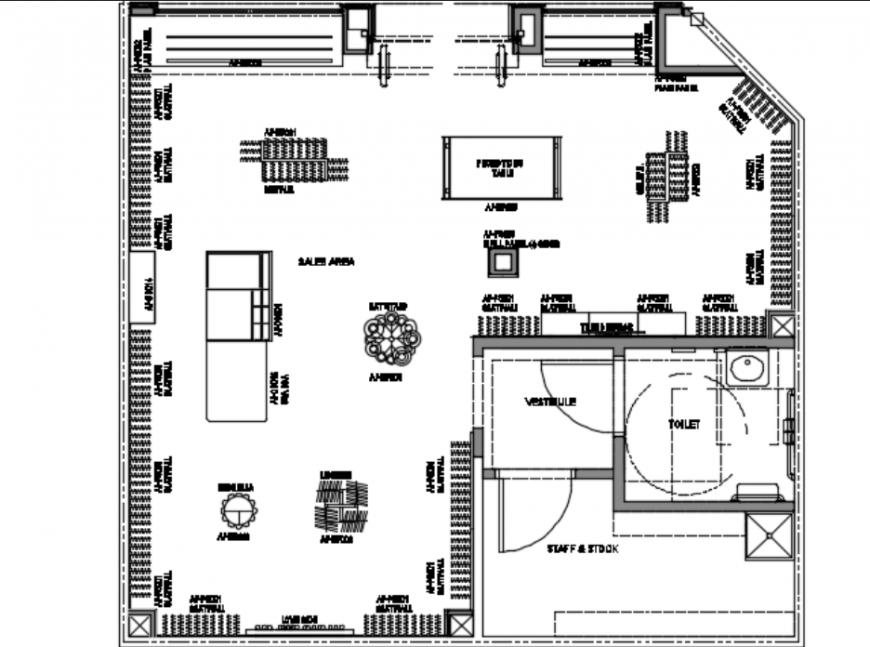 Retail layout design
