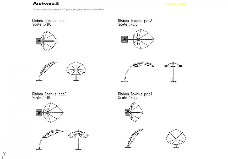 Rimbou Icarus 2 D plan layout file