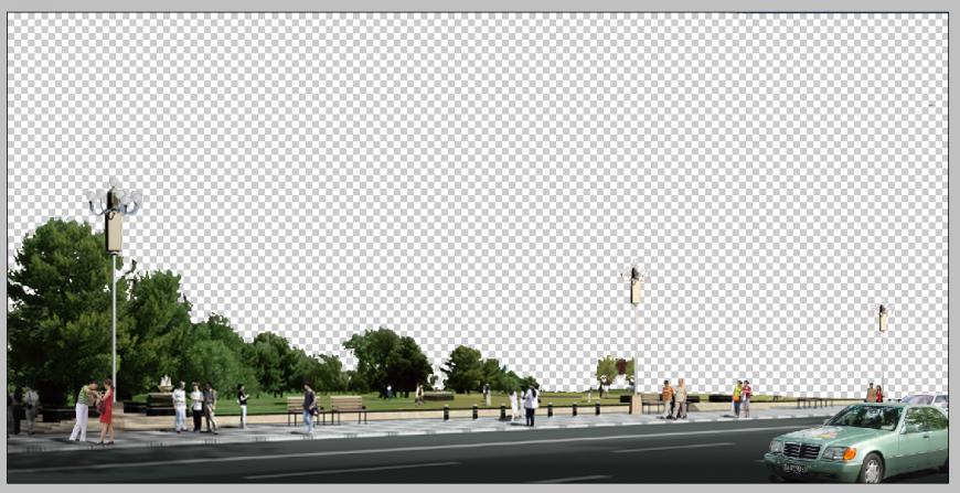Road detail 3d model elevation Photo shop file