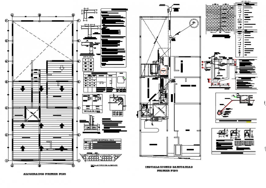 Roof layout plan , architecture plan detail dwg file
