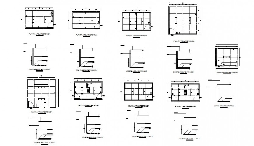 Room plan and section layout file