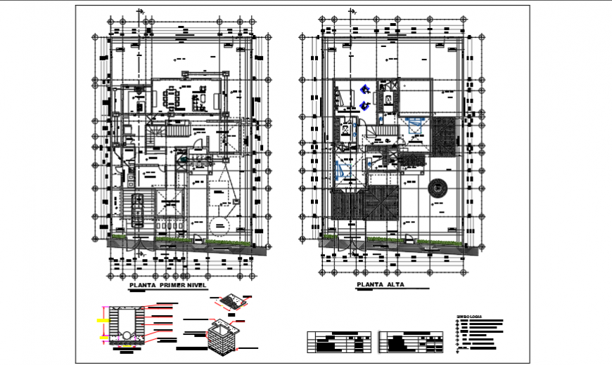 Sanitarias installation design drawing of residential house design