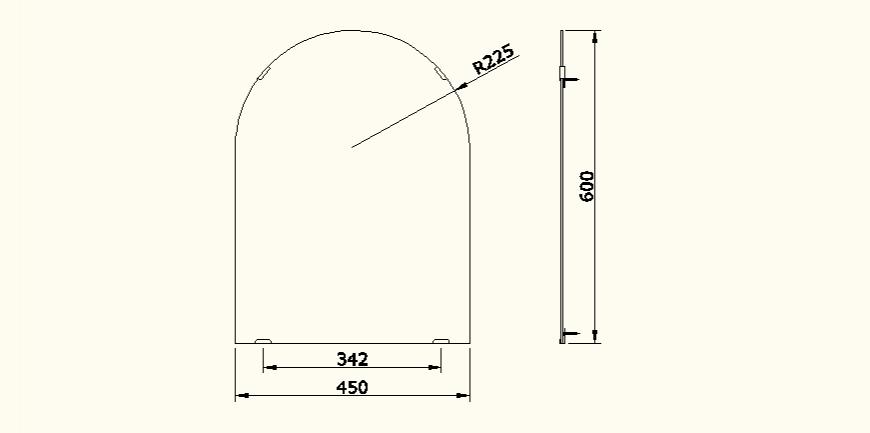 Sanitary blocks detail elevation autocad file