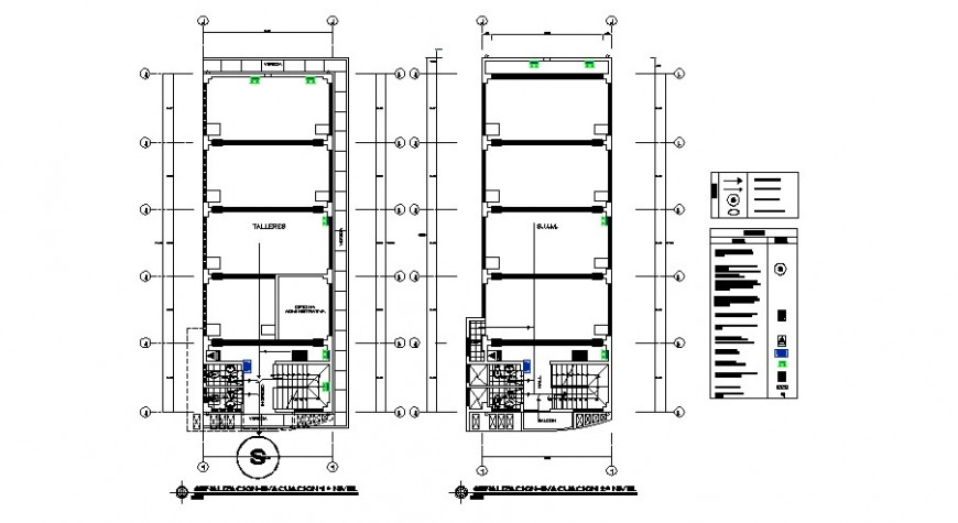 Sanitary installation details for office building cad drawing dwg file