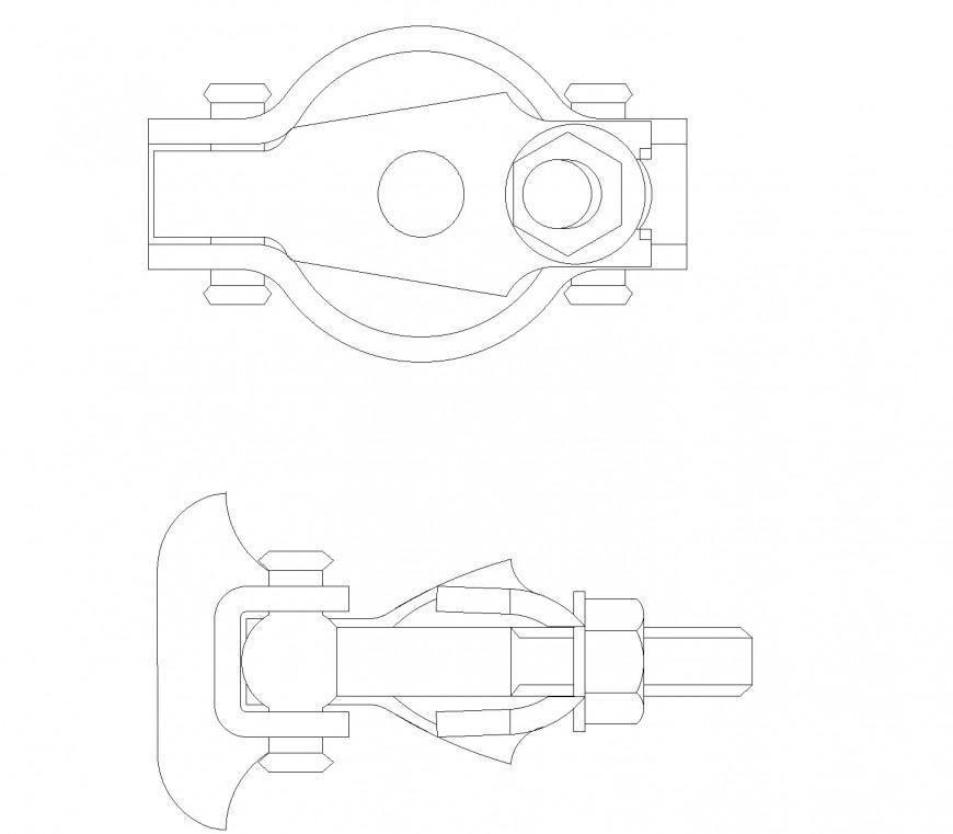 Scaffold coupler plan layout file
