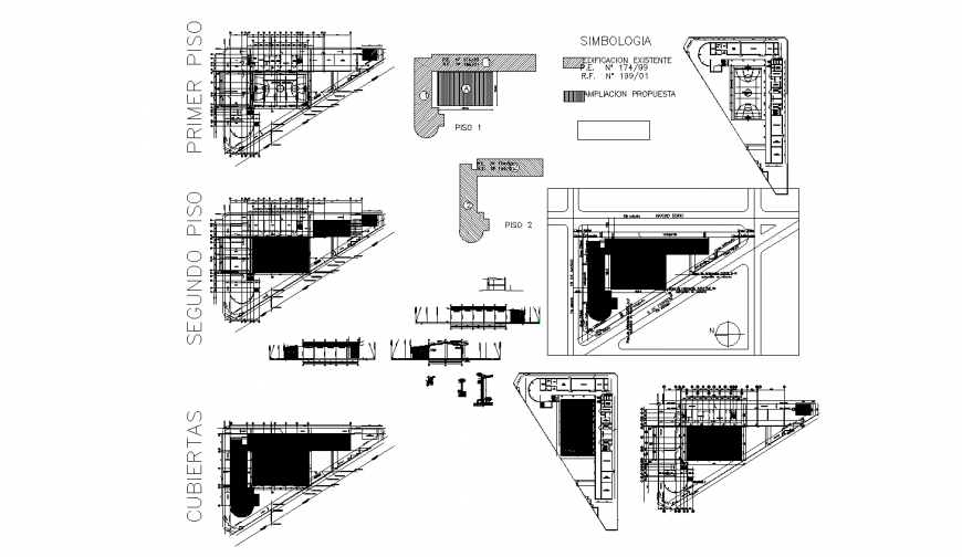 School building floor plan layout and auto-cad drawing details dwg file