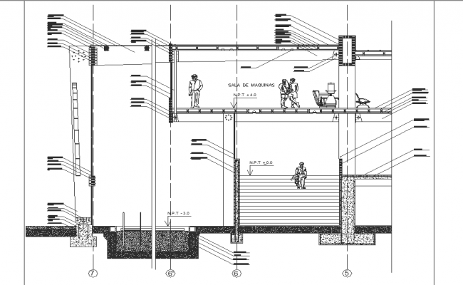 sectional laminated wood structural design drawings