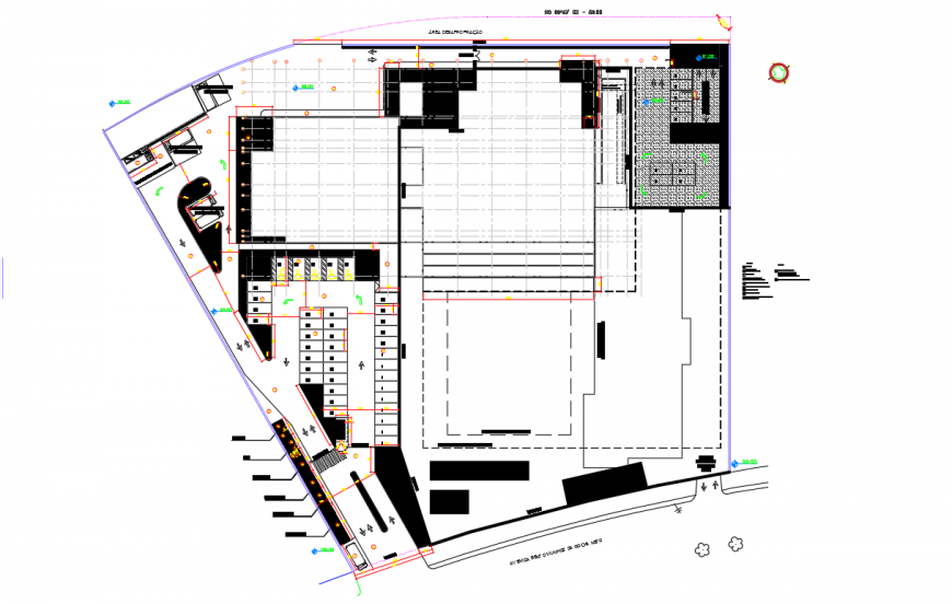 Shopping Center Lay-out design Project detail