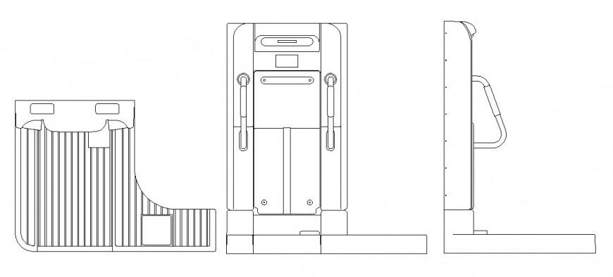 Shower elevation layout file